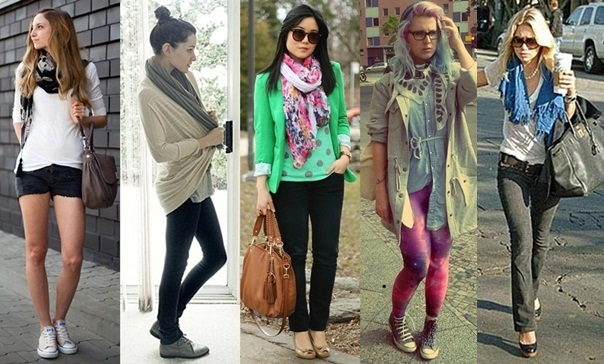 looks com encharpe